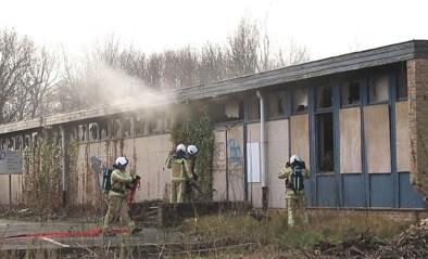 VIDEO. Opnieuw brand gesticht in voormalige muziekschool in Lokeren