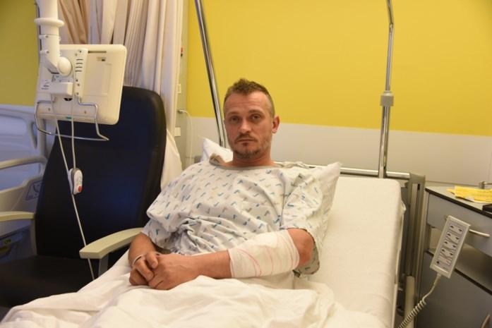 """Kris raakt gewond aan arm na incident aan sporthal: """"Aangevallen door twee jongeren"""""""