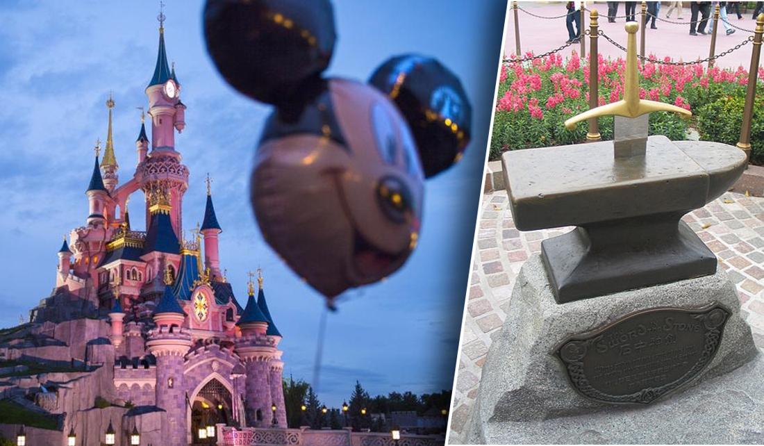 'Te sterke' Disneyland-bezoeker trekt Excalibur uit aambeeld