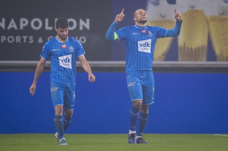 AA Gent wint met duidelijke cijfer glansrijke topper tegen RC Genk