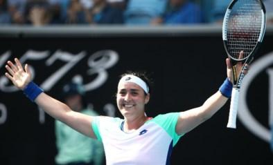 Eerste Arabische ooit in een kwartfinales Australian Open