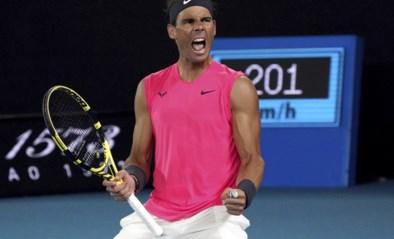 Geen Australische stunt op de Australian Open: Nick Kyrgios gaat lang mee, maar verliest van Rafael Nadal