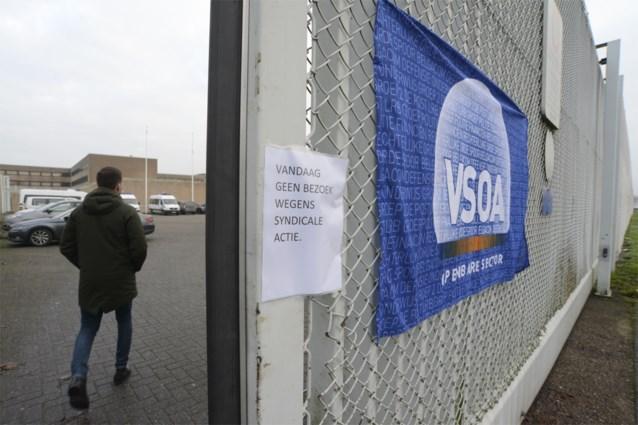 Meerderheid van cipiers legt werk neer in gevangenissen van Brugge, Leuven en Sint-Gillis