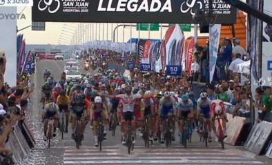 Fernando Gaviria sprint oppermachtig naar de zege in tweede rit Ronde van San Juan
