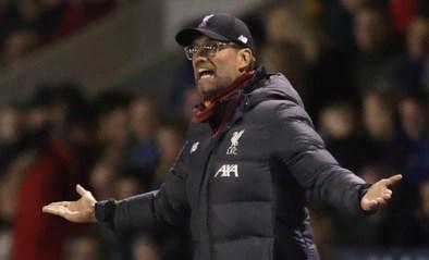 """Liverpool-trainer Jürgen Klopp boycot bekerwedstrijd: """"Ik had mijn spelers een winterstop beloofd, het zal voor de kinderen zijn"""""""