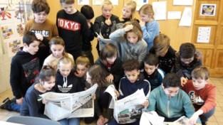 Leerlingen van GBS 't Haegje maken hun eigen krant