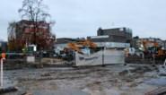 Gemeenteplein grotendeels afgesloten voor aanleg bufferbekken