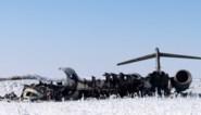 Amerikanen bergen slachtoffers van in Afghanistan gecrasht legervliegtuig