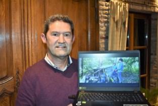 Marc (54) neemt film op in Bouvelobos