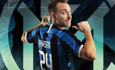 Christian Eriksen wordt ploegmakker van Lukaku bij Inter Milaan