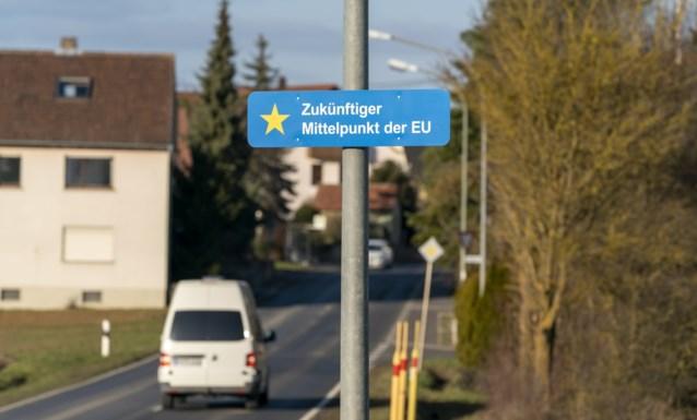Dit ingeslapen dorpje wordt na Brexit nieuw geografisch centrum van Europese Unie