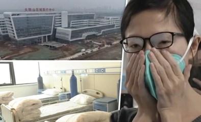 Honderden arbeiders veranderen leegstaand gebouw in 48 uur in ziekenhuis om coronavirus te bestrijden