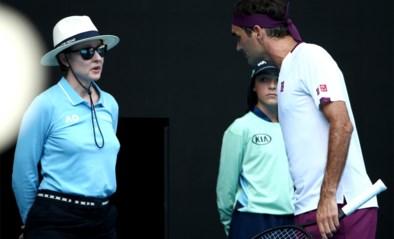 """Eeuwige gentleman Roger Federer krijgt zowaar boete van 3.000 dollar voor vloeken: """"Zij spreekt dus ook dat taaltje"""""""
