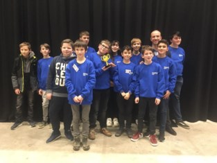 Leerlingen winnen trofee in First Lego League