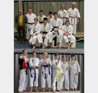 Moerbekenaren pakken medailles op kampioenschap Oost-Vlaanderen Karate