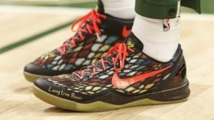Het mooiste eerbetoon aan The Black Mamba: basketspelers eren Kobe Bryant met hun schoenen