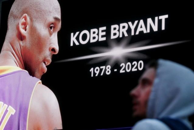 Kobe Bryant officieel als slachtoffer helikoptercrash geïdentificeerd