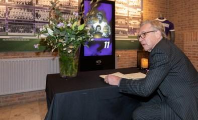 Anderlecht-iconen tekenen rouwregister Rensenbrink