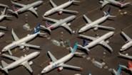 Boeing aan de grond