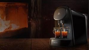 De nieuwe koffiemachine L'Or Barista: dubbele koffieshot