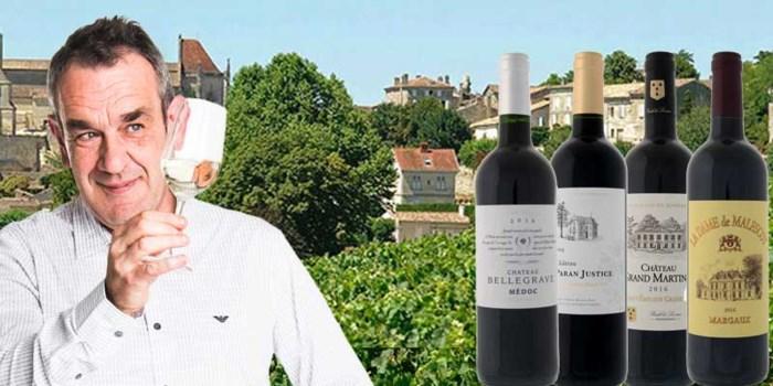 Alain Bloeykens selecteert wijn om te bewaren: bekijk aandachtig de jaargangen