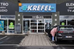Ruim 300 afgedankte huishoudtoestellen gestolen bij Krëfel