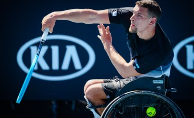 Rolstoeltennisser Gérard grijpt naast finaleplaats Australian Open
