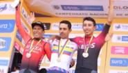 Nairo Quintana sneller dan Egan Bernal op Colombiaans kampioenschap tijdrijden, maar Martinez wint