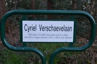 Nog maar net nieuwe borden, maar nu wil gemeente plots wel af van naam voor Cyriel Verschaevelaan