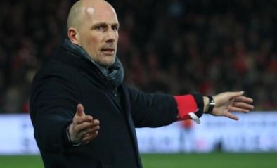 """Clement over nieuwe spits: """"Altijd interessant om een aanvaller te hebben die al twee keer scoorde tegen Antwerp"""""""