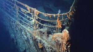 Kleine duikboot botst met wrak Titanic