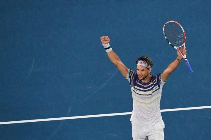 Aanval op de Big Three, deel zoveel: Dominic Thiem (26) kan zich in finale tegen Djokovic tussen de reuzen van het mannentennis wurmen