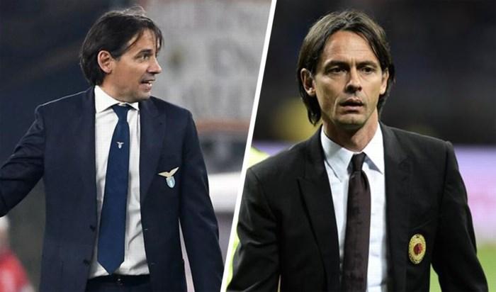 Simone Inzaghi zet plots 'Pippo' Inzaghi in de schaduw: hoe twee broers elkaar afwisselen aan de top van het Italiaanse voetbal