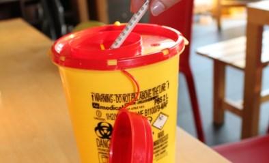 Injectienaalden in naaldcontainer gratis naar het recyclagepark
