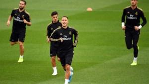 Nog geen Eden Hazard in Madrileense derby