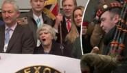 """Brexiteers verlaten Brussel in feeststemming: """"We hebben onze plicht gedaan"""""""