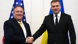 "Amerikaanse steun aan Oekraïne ""zal niet afnemen"", zegt buitenlandminister Mike Pompeo"