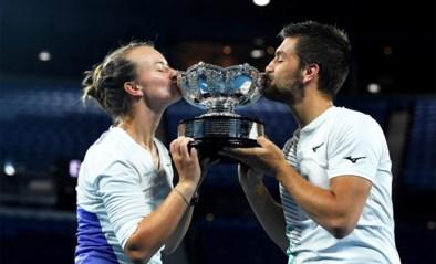 Krejcikova en Mektic winnen het gemengd dubbelspel op de Australian Open