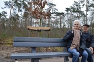 Herdenkingsbank en levensboom voor verdronken Antwerpfan Ben Vanleene