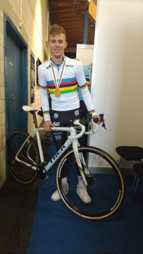 Een verwachte wereldtitel voor Thibau Nys: kersverse wereldkampioen krijgt meteen nieuwe fiets
