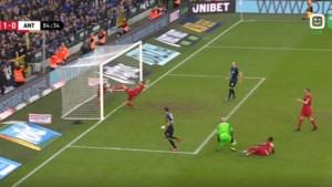 Was die bal wel over de doellijn? Club Brugge scoort controversieel doelpunt tegen Antwerp