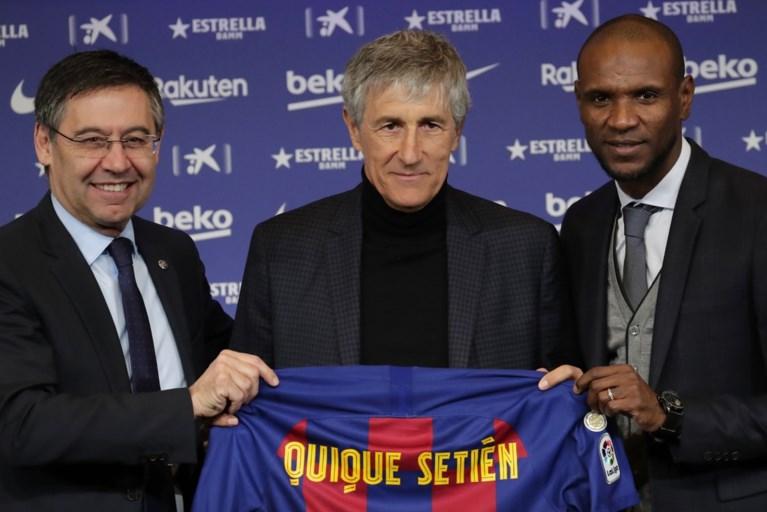 Ontslagen Valverde schrijft een afscheidsbrief aan Barcelona-supporters