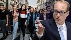 """Onderwijsminister Ben Weyts wil geen oogje meer dichtknijpen voor klimaatspijbelaars: """"Kunnen niet meer andere kant opkijken"""""""