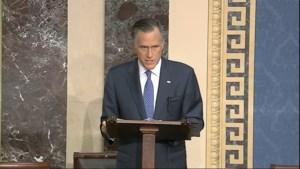 """Republikein Mitt Romney wil Donald Trump laten afzetten: """"Aanval op onze waarden, rechten en nationale veiligheid"""""""