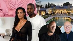 """Kim Kardashian en Kanye West tonen luxevilla die drie Belgische architecten mee ontwierpen: """"Ze wou absoluut een roze vlinderkamer"""""""