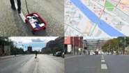 """Kunstenaar neemt Google Maps beet met karretje vol smartphones: """"Toont hoe de app werkt"""""""