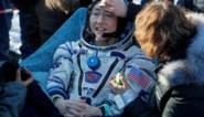 Amerikaanse terug op Aarde na langste ruimtevlucht ooit door een vrouw
