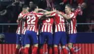 Atlético Madrid, met invaller Yannick Carrasco, met kleinste verschil voorbij Granada
