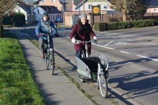 Tijdelijke fietssuggestiestroken op komst in de Molenstraat