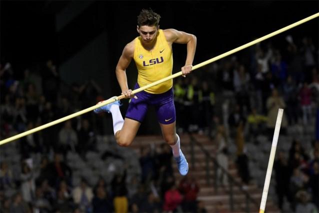 20-jarige Zweed Armand Duplantis verbetert wereldrecord polsstokspringen